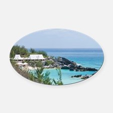 Bermuda. East Whale Bay beach at F Oval Car Magnet