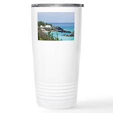 Bermuda. East Whale Bay beach a Travel Mug