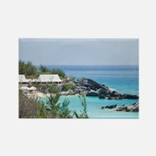 Bermuda. East Whale Bay beach at  Rectangle Magnet