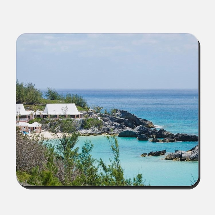 Bermuda. East Whale Bay beach at Fairmon Mousepad