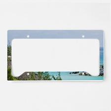 Bermuda. East Whale Bay beach License Plate Holder