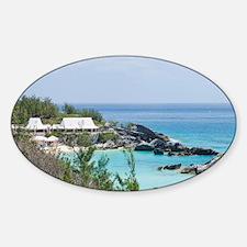 Bermuda. East Whale Bay beach at Fa Decal