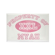 Property-of-Myah Rectangle Magnet