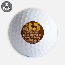 ThirtyFive Golf Ball
