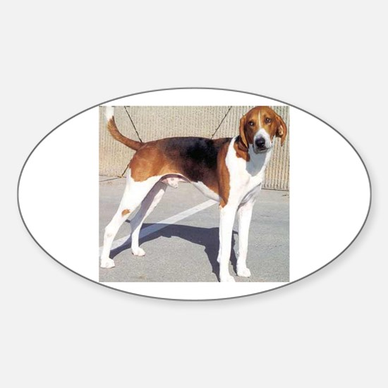 american foxhound full Decal