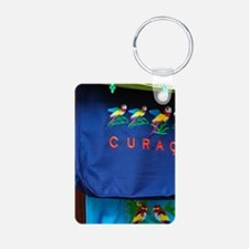 Curacao. Souvenirs in mark Keychains