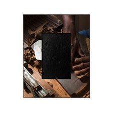 Cohiba cigars being made by hando, Z Picture Frame