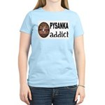 Pysanka Addict Women's Light T-Shirt