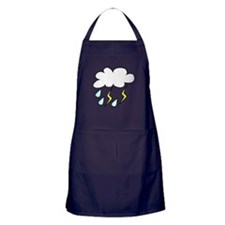 Storm Cloud Apron (dark)