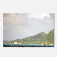 Caribbean, Antigua. Peaks Postcards (Package of 8)