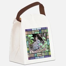 Rabbit4 Canvas Lunch Bag