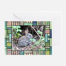 Rabbit4 Greeting Card