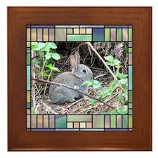 Rabbit4 Framed Tile