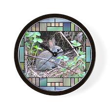Rabbit4 Wall Clock