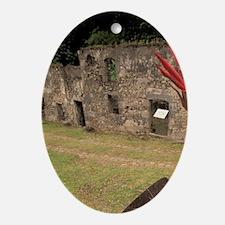 Martinique; Anse Ceron Habitation Ce Oval Ornament