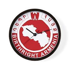 BR New logo 2011 Wall Clock