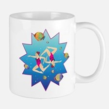 Synchronized swimming Mug