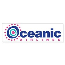 Oceanic Airlines Car Sticker