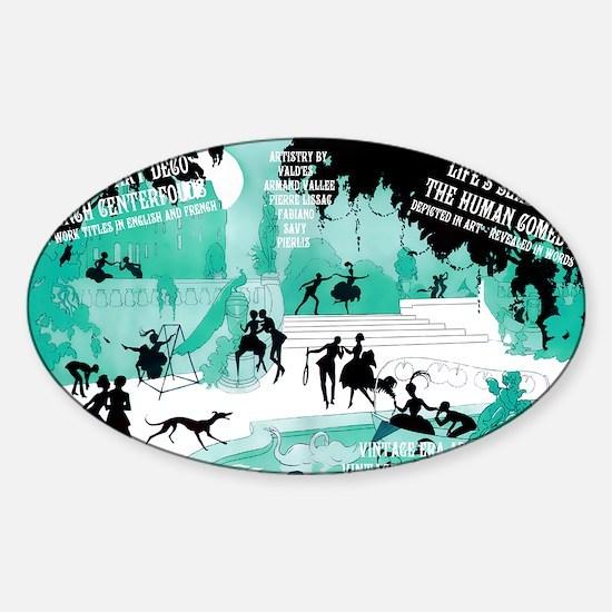 1 A CVR VALDES LifesSeasons CFLDS Sticker (Oval)