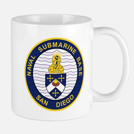 NAVAL SUBMARINE BASE San Diego CA Military Pa Mugs