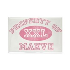 Property-of-Maeve Rectangle Magnet