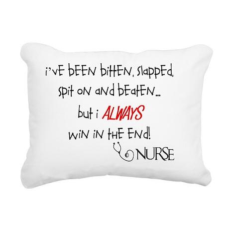 RN beaten GENERAL Rectangular Canvas Pillow
