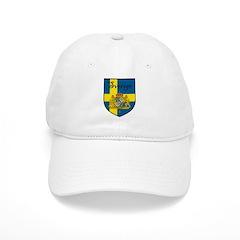Sverige Flag Crest Shield Baseball Cap