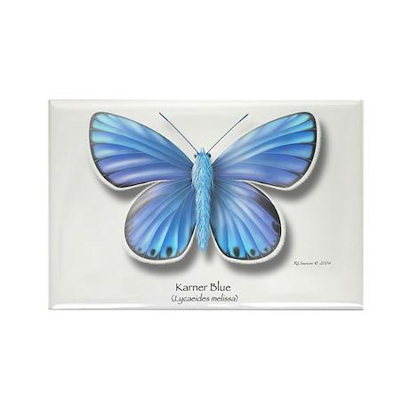 Karner Blue Rectangle Magnet (100 pack)