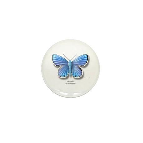 Karner Blue Mini Button