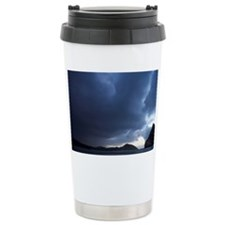 Approaching Storm and Archway I Travel Mug