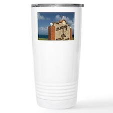 Paradera: One Happy Island Sign Travel Mug
