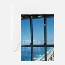 View From Q1 SkyscraperGold Coast, S Greeting Card