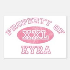 Property-of-Kyra Postcards (Package of 8)