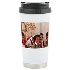 School students aged 7 to 10 in Travel Mug