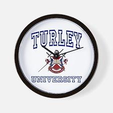 TURLEY University Wall Clock