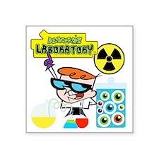 "DEXTERSLABORATORYONE Square Sticker 3"" x 3"""