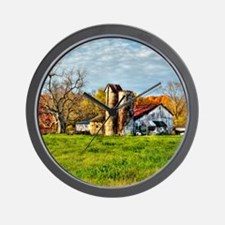 sunrise farm UPDATED Wall Clock