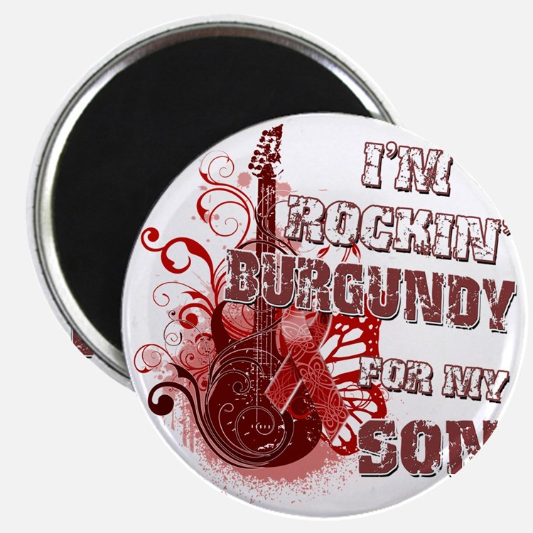Im Rockin Burgundy for my Son Magnet