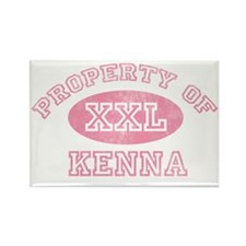 Property-of-Kenna Rectangle Magnet