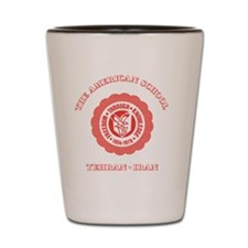 TASCeramicMugRed Shot Glass