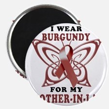 I Wear Burgundy for my Brother In Law Magnet