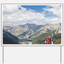 Arthurs Pass National Park. John Szevin  Yard Sign
