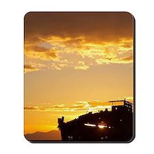 Janie Seddon Shipwreck at Dawn, Motueka, Mousepad