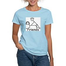 """""""Friends"""" Women's Color T-Shirt"""
