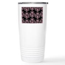 fleurPinkRibbonWBPBeBag Travel Mug
