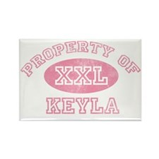 Property-of-Keyla Rectangle Magnet