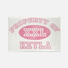 Property-of-Keyla Rectangle Magnet