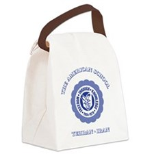 TASGolfShirtBlue Canvas Lunch Bag