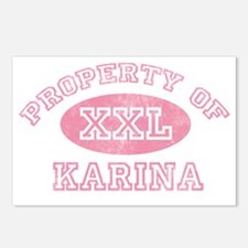 Property-of-Karina Postcards (Package of 8)