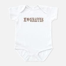 i love giraffes Infant Bodysuit